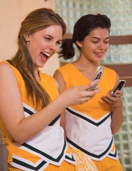 Cheerleaders Won't Stop Posing Nude For Cell Phone Photos