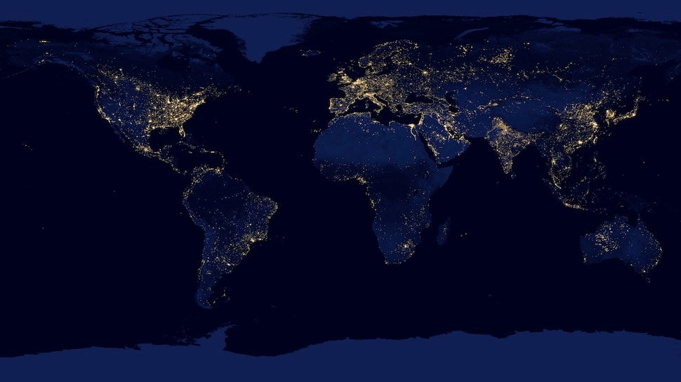 What do we really mean when we say light is pollution for What does mean lit
