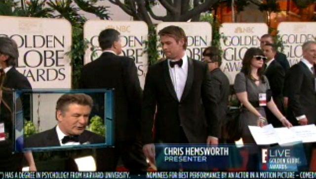 Live Blogging E!'s Golden Globes Red Carpet