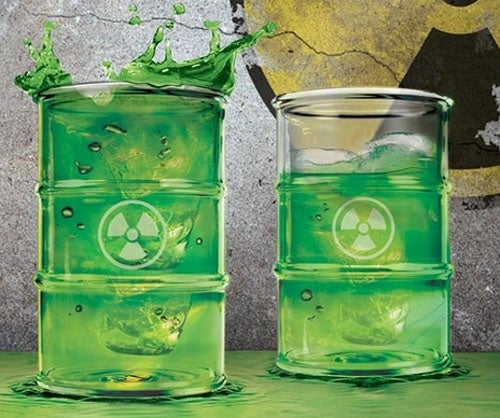 Radiation Drinkware Is Probably Understating the Toxicity of Your Beverage