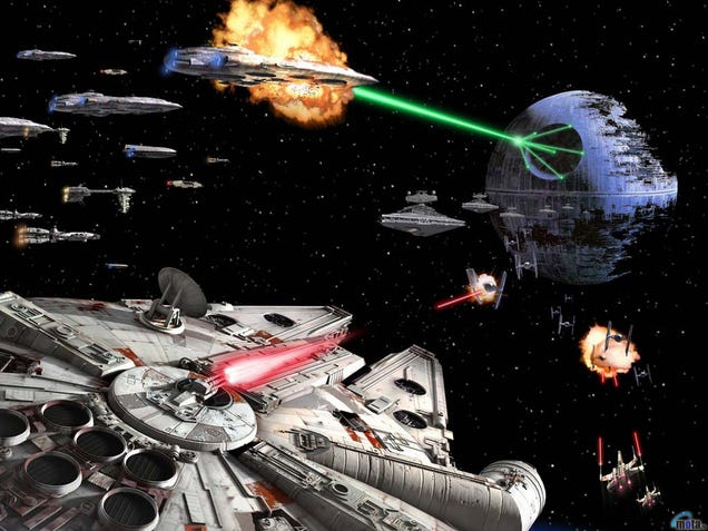 Star Wars Space Battle Wallpaper Space Battle Wallpapers to