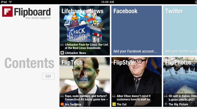 "Flipboard Is a Digital ""Magazine"" Based on What Your Friends Are Reading"