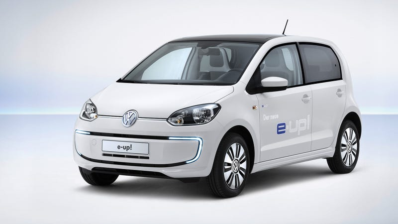 The e-up! Is Volkswagen's First Electric Production Vehicle