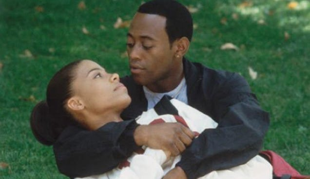 Sanaa Lathan interview about omar epps