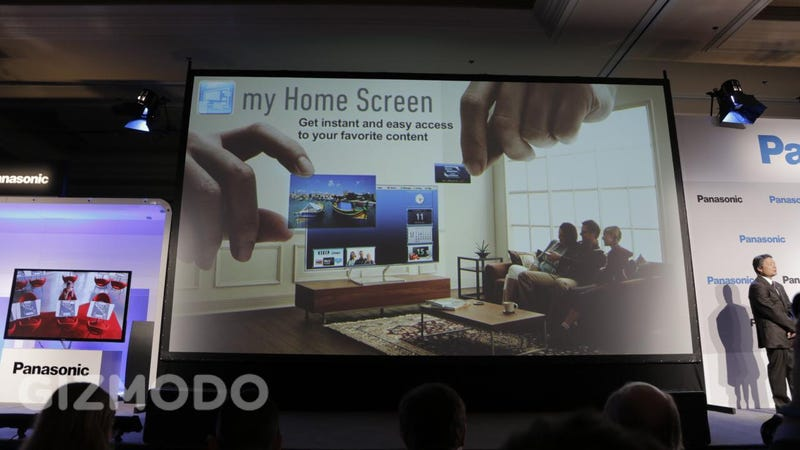 Panasonic Thinks People Want to Add Widgets to Their TVs