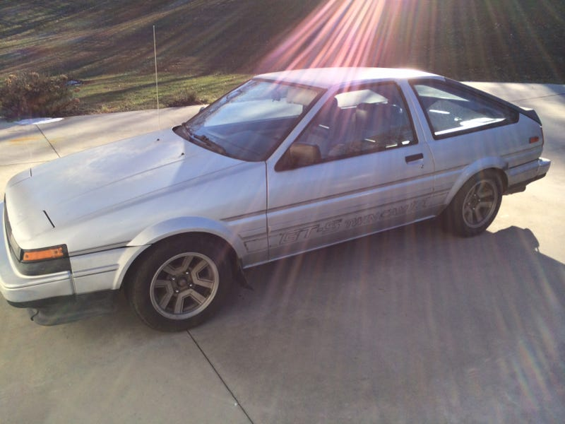 The Legend of James' AE86 Continues