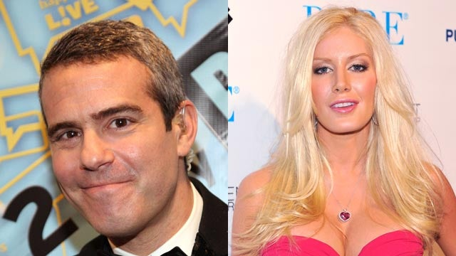 Andy Cohen Prefers Knives In His Eyes to Heidi Montag
