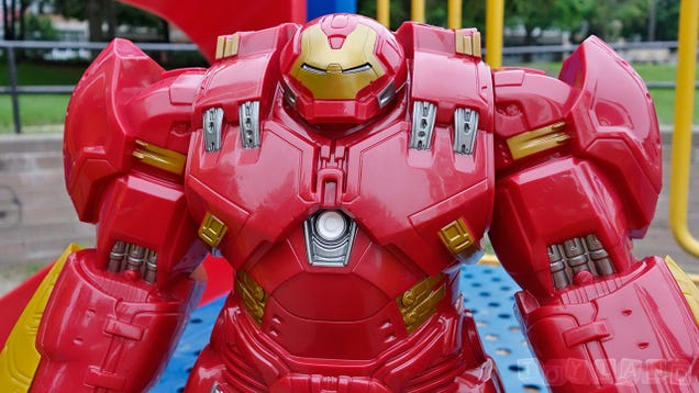 The Massive 18-Inch Titan Hero Hulkbuster Is the Size Of a Small Child