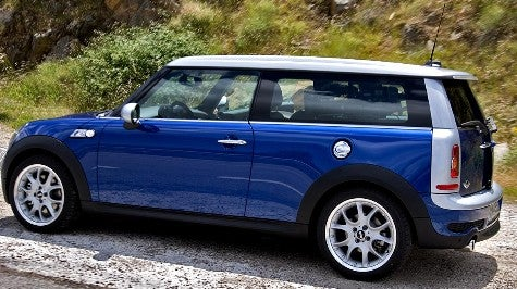 Spy Photos: Mini Clubman in the Flesh