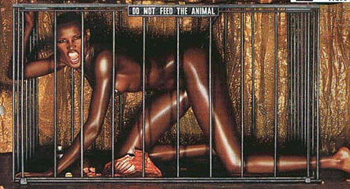 Why Photograph A Black Woman In A Cage?