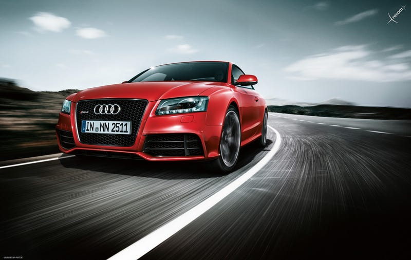 Audi RS5: First Photos