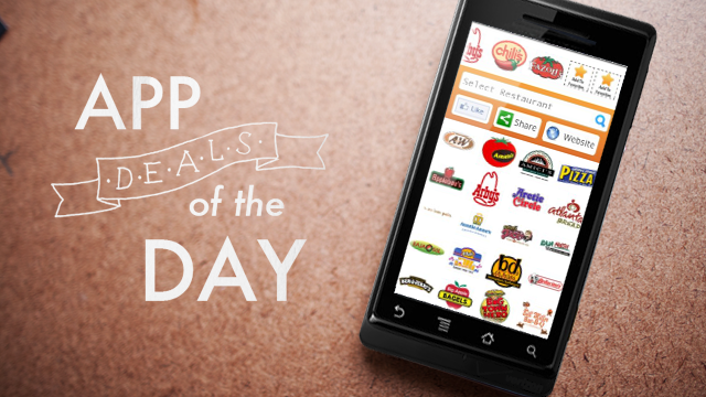 Daily App Deals: Get Fast Food Nutrition for Android for Free in Today's App Deals