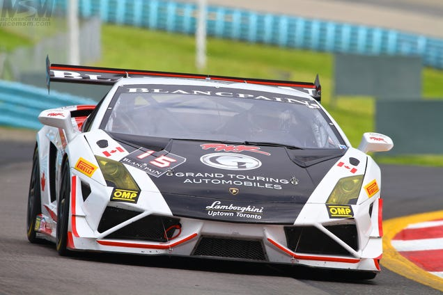 The Lamborghini Race At The Glen Was All About Racing Raging Bulls