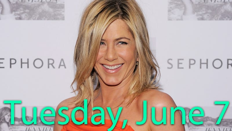 Famously Single Jennifer Aniston Seems To Be Getting Laid