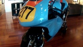 A TL1000, and a monoposto race bike project