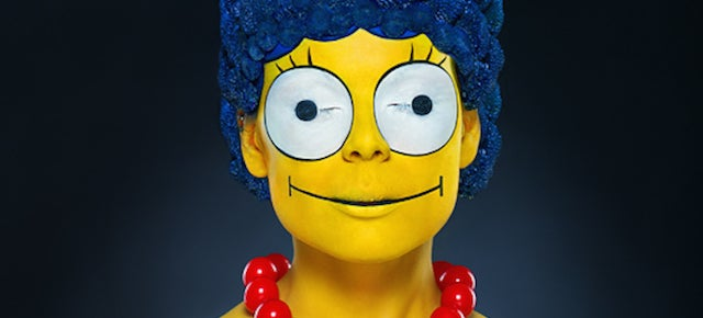 This real-life photo of Marge Simpson will haunt your dreams forever