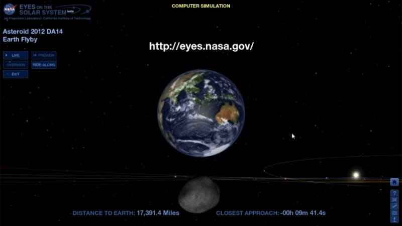 We're Safe! The Asteroid Goes Away