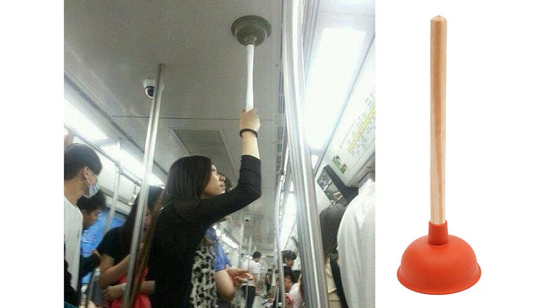 This Brilliant Subway Hack Guarantees You'll Never Fall