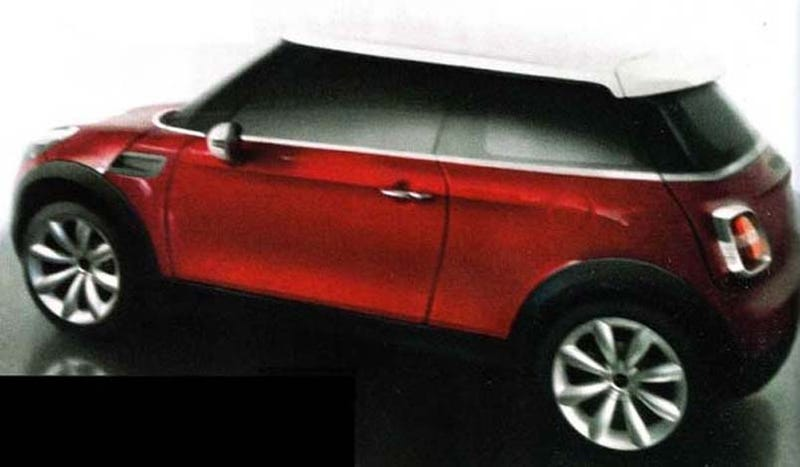 2012 MINI Cooper i-MegaCity Spied, Maybe