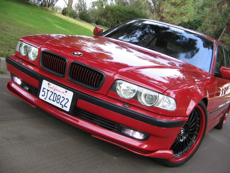 BMW 740i Wears the M Badge of Courage for $13,200!