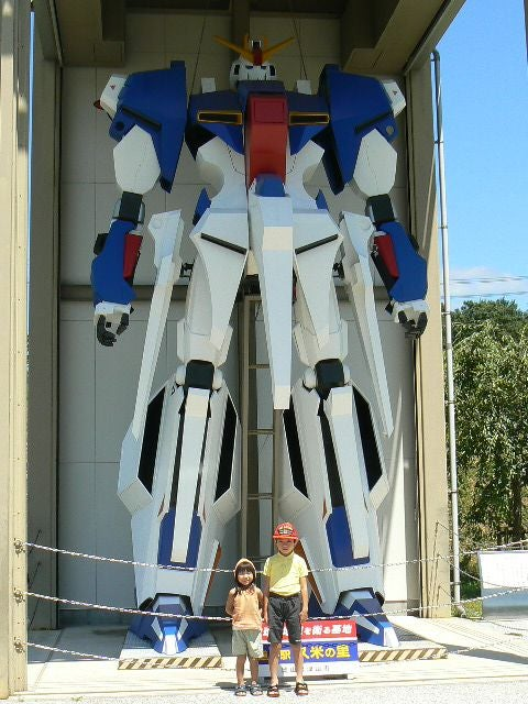 Other Large Gundams In Japan