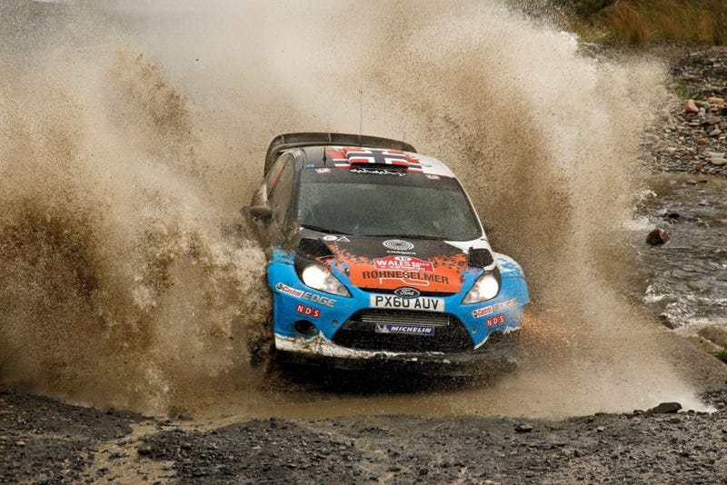 WRC Rally Wales GB - Qualifying