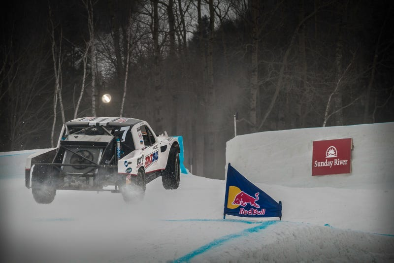 Red Bull Racers Talk About What 900 HP Is Like In Snow