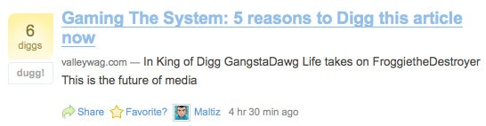 Digg users even smarter than we thought