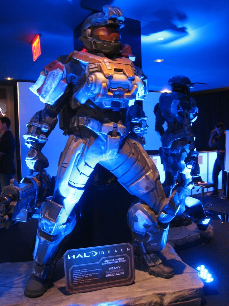 Remember the Halo: Reach Launch Parties