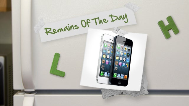 Remains of the Day: AT&T Users Can Keep Unlimited Plans for iPhone 5, Verizon Users Not So Lucky