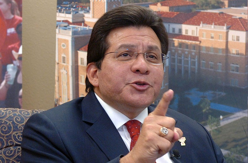 Alberto Gonzales Defends Donald Trump's Right to Do Completely Different, Non-Racist Thing