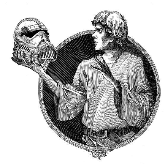 "What if Shakespeare wrote Star Wars? ""Alas, poor Stormtrooper!"""