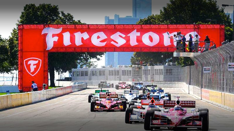 IndyCar racing returns to Detroit's Belle Isle