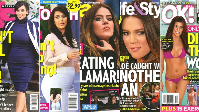 This Week in Tabloids: Khloe Kardashian Commits Adultery by Hugging a Rapper