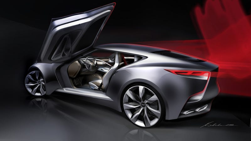 The Hyundai HND-9 Is Probably The Next Genesis Coupe