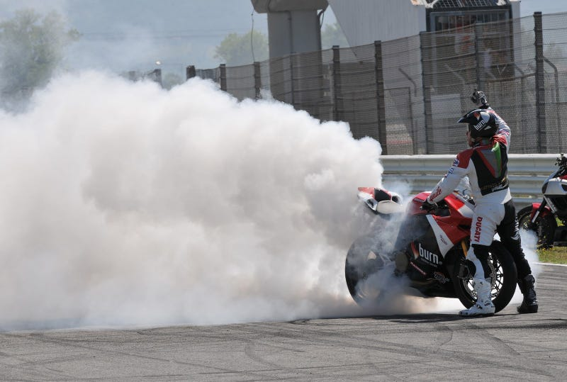 Standing Burnout? Standing Burnout