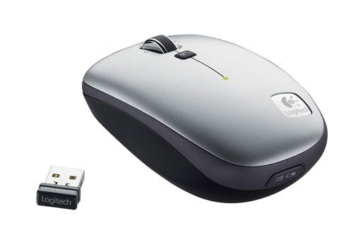 Logitech's V550 Nano Wireless Mouse Docks With Your Laptop's Top