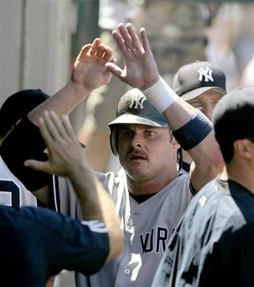 American Mustache Institute Backs Giambi