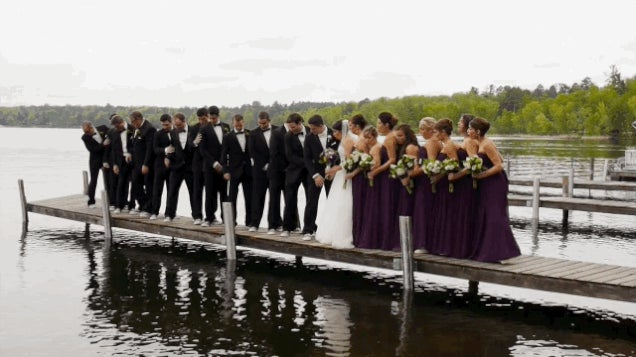 Wedding Photo Shoots Continue To Be Menaced By Collapsing Docks