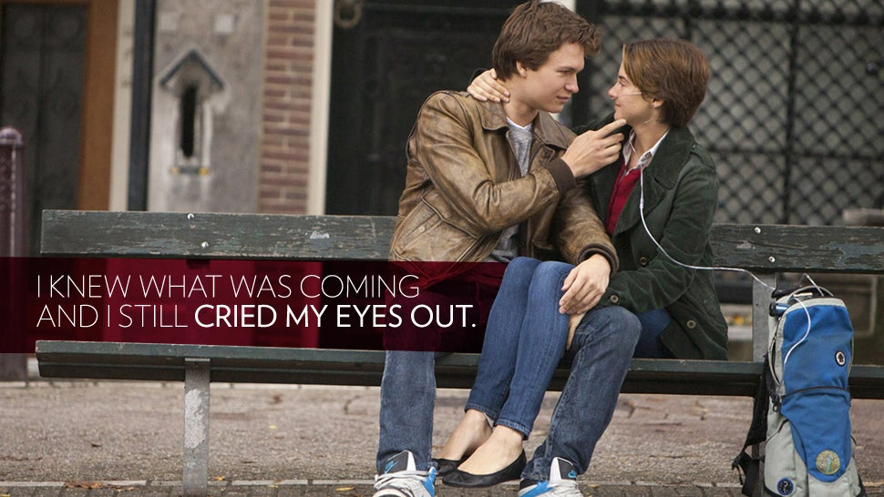 The Fault in Our Stars: All Right, You Win, I Sobbed