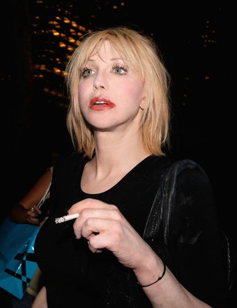 Courtney Love Embroiled in Pissing Contest