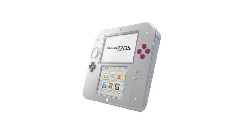 In These Colors, The 2DS Actually Looks Pretty Sexy