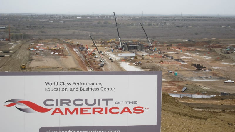 Austin F1 Circuit of the Americas Track Visit