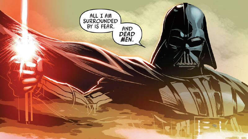 DarthVader'sBestBurns, Not Counting the Ones Covering His Entire Body