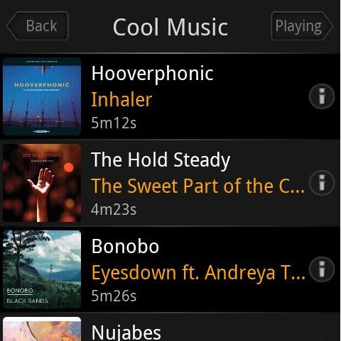 Plex for Android Streams Music and Video from Your Media Center