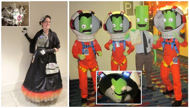 Playing with Science and Technology for Fantastic Costumes