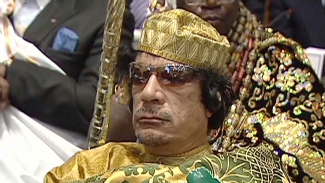 Gadhafi Now Using Exploding Boats and Mannequins