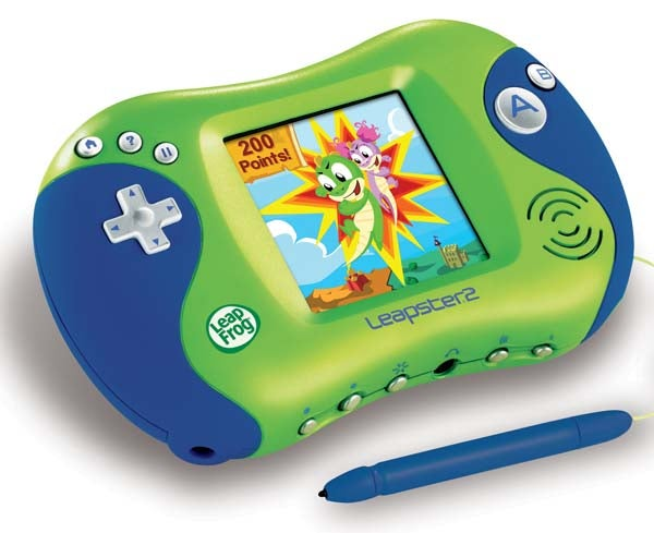LeapFrog Leapster2 and Didj: Handheld Edu-Gamers For the Pre-iPod/Cellphone/DS Demographic