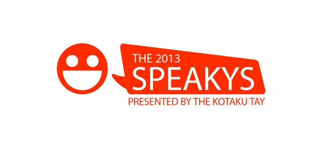 The 2013 Speakys: Round One Winners and Round Two Voting