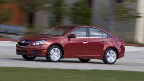 2011 Chevy Cruze: Don't Call It A Cobalt